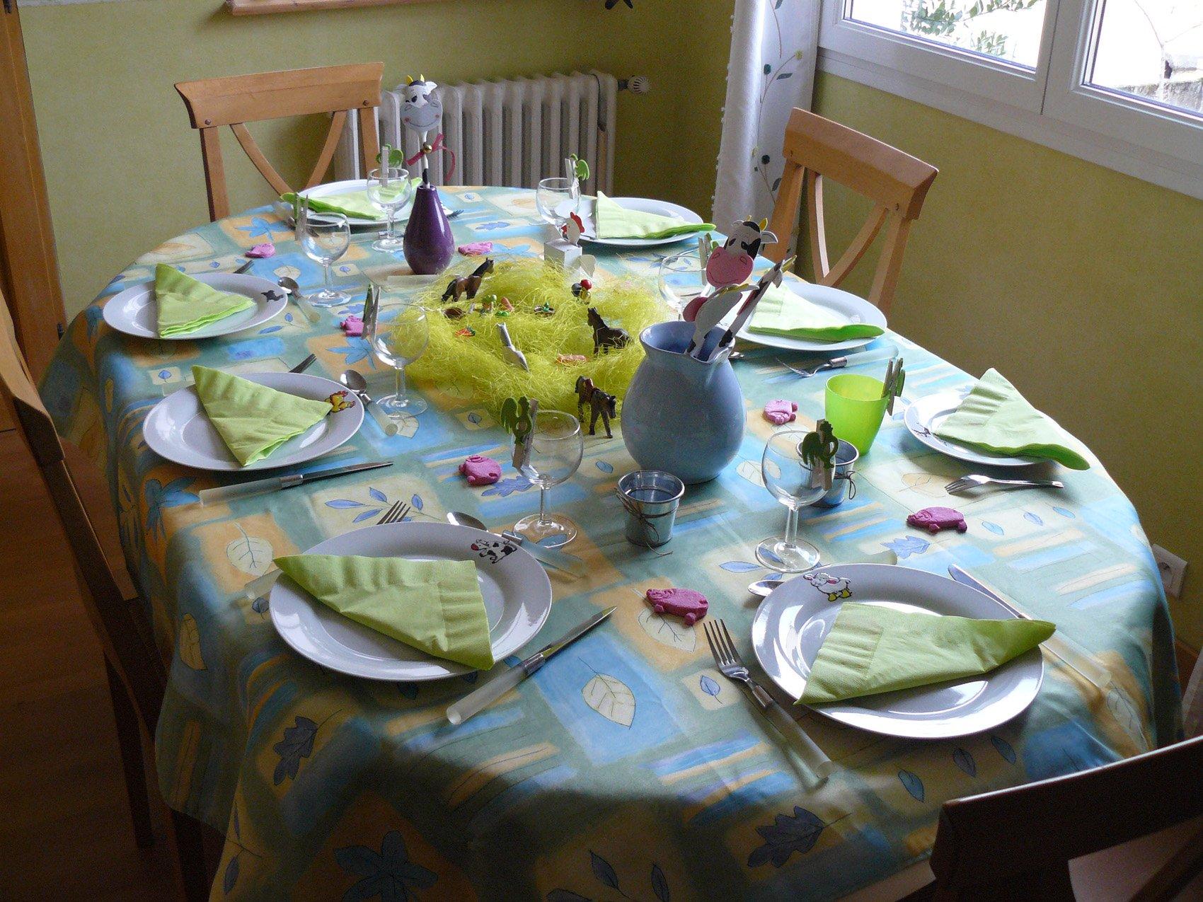 La Table A La Ferme Les Bricolages D Isa Pour La D Coration De Table